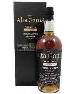 Alta Gama, Single Cask Venezuela 15 Y.O., 60% 70 cl.
