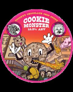 Amundsen - Bourbon BA Cookie Monster 33 cl.
