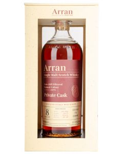 The Arran Malt, Private Cask 8 Y.O. Sherry Hogshead, 57% 70 cl.
