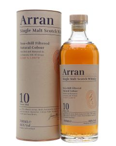 The Arran Malt, 10 Years NEW, 46% 70 cl.