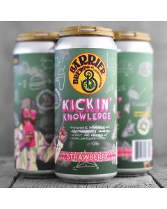 Barrier Brewing - Kickin Knowledge Strawberry 50 cl.