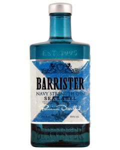 Barrister, Navy Strength Gin, 55% 70 cl.