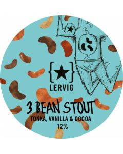 Lervig - 3 Bean Stout 33 Cl.