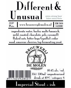 De Molen - Different & Unusual 33 cl.
