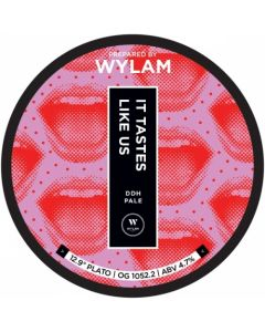 Wylam - It Tastes Like Us 44 cl