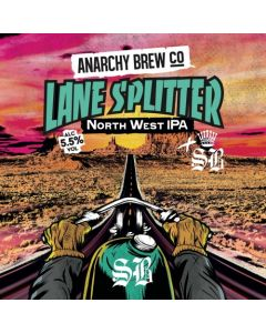 Anarchy Brew - Lane Splitter 44 cl.