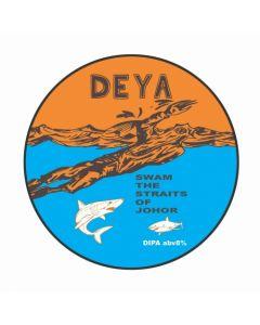 Deya - Swam The Straits Of Johor 50 cl.