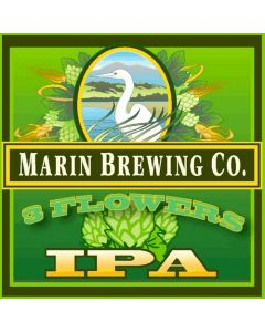 Marin Brewing Co. - 3 Flowers IPA