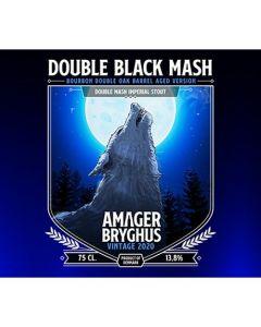 Amager Bryghus - Double Black Mash Bourbon 2020 75 cl.