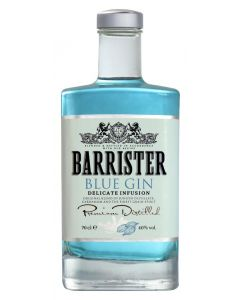 Barrister, Blue Gin, 40% 70 cl.