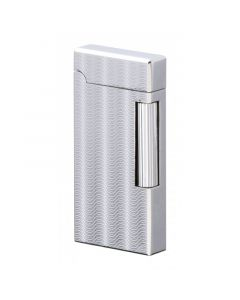 Sarome Lighter flint Silver / Engine turned SD6A-06