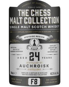 The Chess Malt Collection, Auchroisk 24 Y.O., 48,3% 70 cl.