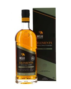 M&H Distillery, Elements Peated, 46% 70 cl.