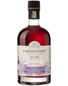 Foxdenton, Sloe Gin, 70 cl. 27%