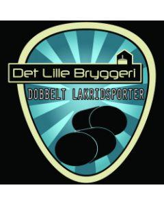 Det Lille Bryggeri - Double Lakrids Porter 50 cl.