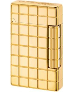 "Dupont ""initial"" flint lighter (gold color)"
