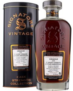 Signatory Vintage, Edradour 2009, 10 Years, 70 cl. 57,9%