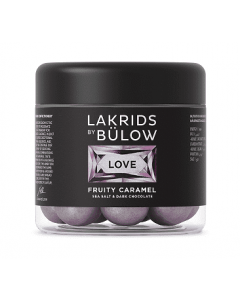 LOVE - FRUITY CARAMEL, Lakrids By Bülow 125g