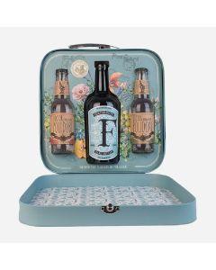 Ferdinand's Traveller's Dry Gin m. 2 fl. Polidori tonic, 44%