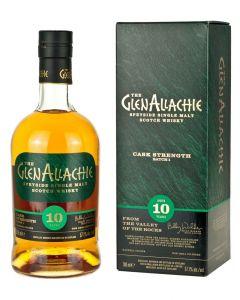 GlenAllachie, 10 Y.O. Cask Strength Batch 2, 54,8% 70 cl.