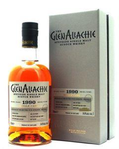 GlenAllachie, 1990 Virgin Oak Barrel 30 Y.O., 54,8% 70 cl.