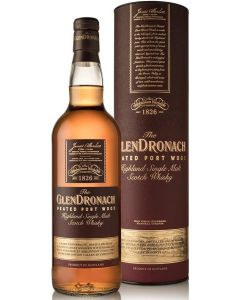 GlenDronach, Peated Port Wood, 70 cl. 46%