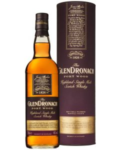 GlenDronach, Port Wood 10 Y.O., 46% 70 cl.