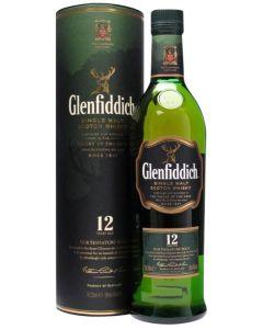 Glenfiddich 12 år 70 cl.