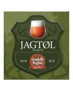 Grauballe Bryghus - Jagtøl 50 cl.