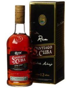 Ron Santiago de Cuba, Anejo 12 Y.O., 70 cl. 40%