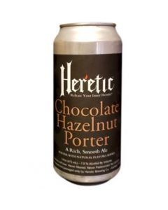 Heretic - Chocolate hazelnut Porter 47,3 cl.