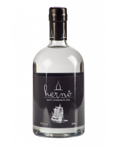 Hernö, Navy Strength Gin, 50 cl. 57%
