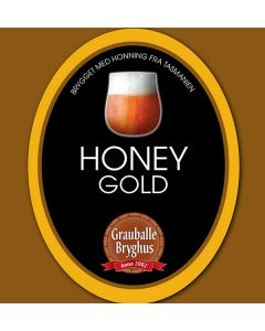 Grauballe Bryghus - Honey Gold 50 cl.