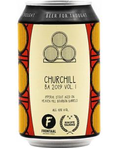 Frontaal Brouwerij - Churchill B.A. 2019 vol. I 33 cl.