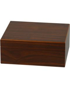 Humidor walnut finish (til ca. 25 cigar)