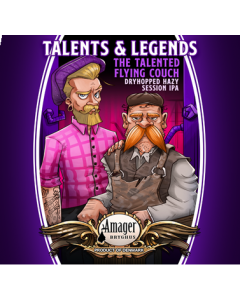 Amager Bryghus - Talents & Legends Flying Couch 33 cl.
