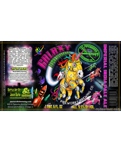 Pipeworks - Unicorn Galaxy 650 ml.