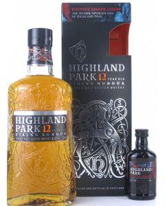 Highland Park, 12 Y.O. inkl. 5 cl. Dragon Legend., 75 cl.