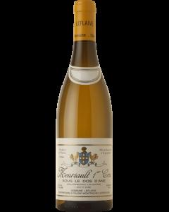 """Domaine Leflaive, Meursault 1. cru """"Sous le Dos d'Ane"""" 2016, 75 cl."""