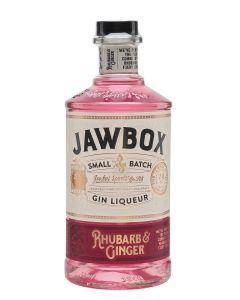 Jawbox, Rhubarb & Ginger Gin Liqueur, 20% 70 cl.