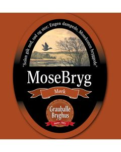 Grauballe Bryghus - MoseBryg 50 cl.