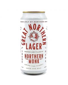 Northern Monk - Great Northern Lager 44 Cl.