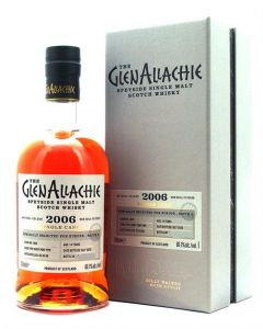 GlenAllachie, 2006 Ruby Port Pipe 14 Y.O., 60,1% 70 cl.
