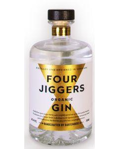 Four Jigger's Organic Gin, 44,4% 70 cl.