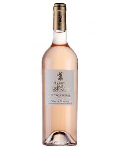 Château des Aspras, Les Trois Frères Rosé 2020, 75 cl.