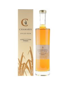 Chamarel Rum, Spiced Rum Vanilla, 70 cl. 40%