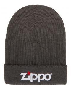 Zippo vinter hat grå