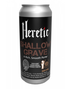 Heretic - Shallow Grave Porter 47,3 cl.