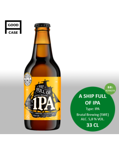 Brutal Brewing - A Ship Full of IPA 33 cl.
