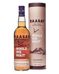 """Raasay, While We Wait 2019 """"Last Orders"""", 46% 70 cl."""